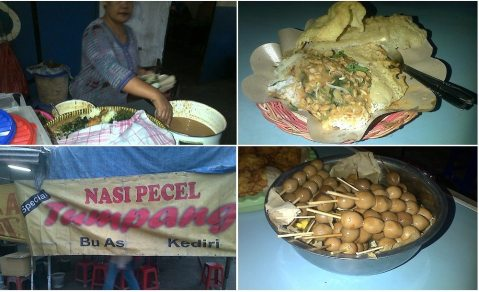 pecel tumpang Bu As